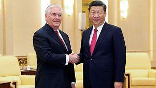 Streit um Nordkorea? US-Außenminister Tillerson bei Chinas Präsident Xi Jinping