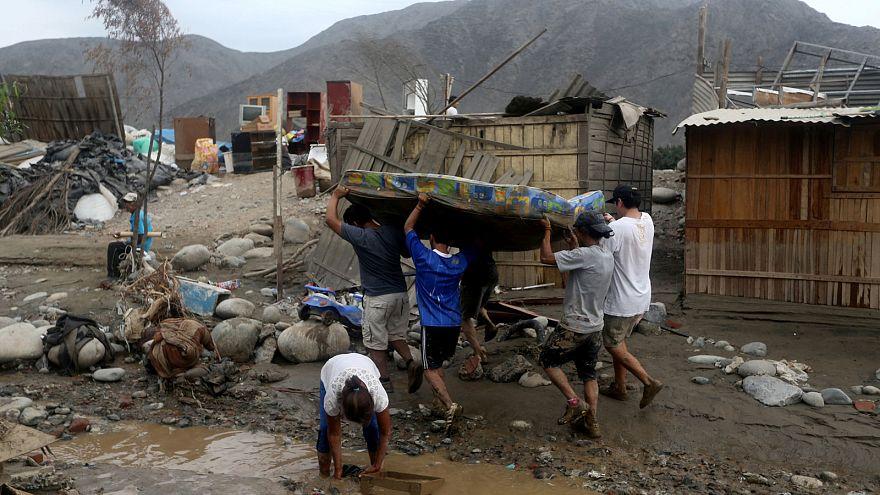 Перу: жертвами стихии стали уже 72 человека