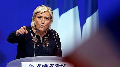 Marine Le Pen en visite au Tchad
