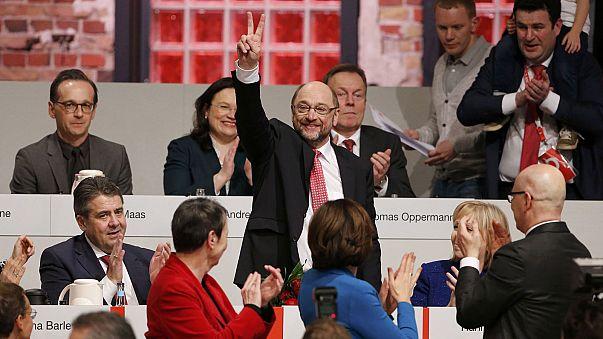 Schulz, elegido líder del SPD con el 100 % de votos