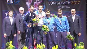 Россиянин Тимур Сафин выиграл Гран-при по фехтованию на рапирах