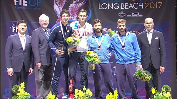 Fencing: Safin and Kiefer win Foil titles at Long Beach Grand Prix