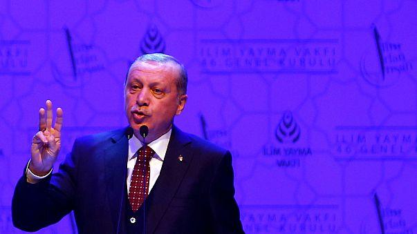 Erdogan wirft Merkel erneut Nazi-Methoden vor