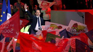 """الانتخابات الفرنسية: بنوا آمون ينتقد مرشحي """"حزب المال"""""""