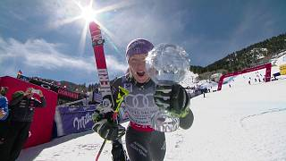 Alpine skiing: Worely seals World Cup giant slalom title