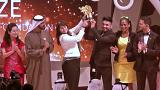 'World's best teacher' wins $1 million prize