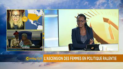 Women's representation in politics worldwide stagnating [The Morning Call]
