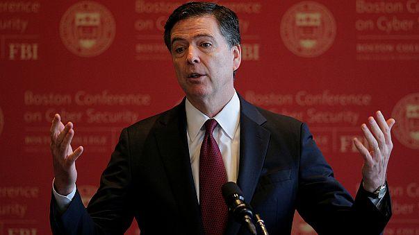 Diretor do FBI no Congresso para falar de Trump e Moscovo