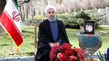 تحویل سال ۱۳۹۶ خورشیدی در ایران؛ پیامهای نوروزی رهبر و رئیس جمهور