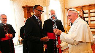 Génocide rwandais : en visite au Vatican, Paul Kagamé reçoit les excuses du pape