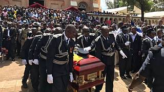 Slain Ugandan police spokesperson to be buried Tuesday