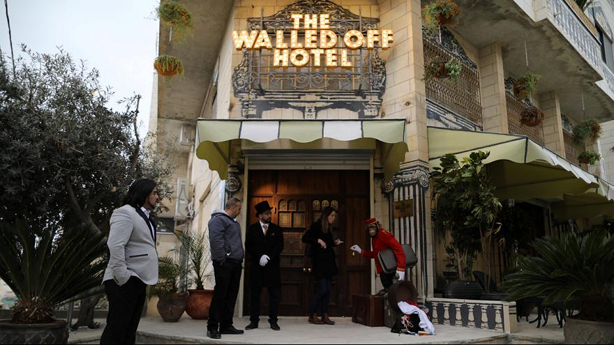 Room at the Inn: Banksy's Walled Off Hotel welcomes its first guests