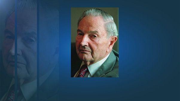 Σε ηλικία 101 ετών έφυγε από τη ζωή ο Ντέιβιντ Ροκφέλερ