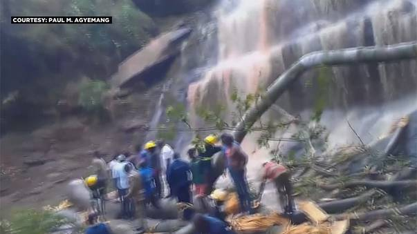 مرگ ۱۸ تن در غنا بر اثر سقوط درخت