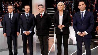 Sin sorpresas en el primer debate electoral de las presidenciales francesas