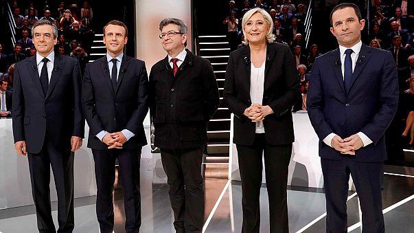 برتری امانوئل مکرون در اولین مناظره تلویزیونی انتخابات ریاست جمهوری فرانسه