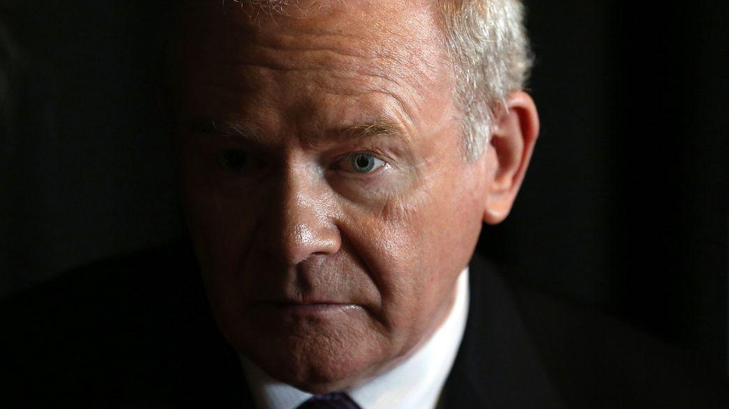 Meghalt Martin McGuinness