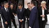 French presidential debate: Who said what, to whom, and who performed the best?