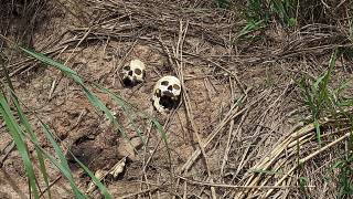 Mass graves in central Congo bear witness to growing violence