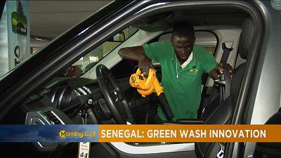 """Sénégal : focus sur """"Greenwash"""", centre de lavage automobile écologique"""