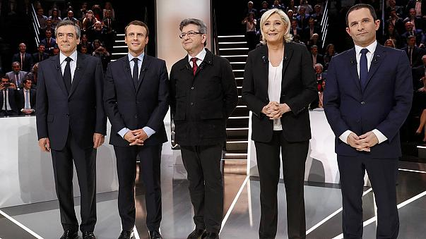 Le Pen and Macron: same words but different meanings