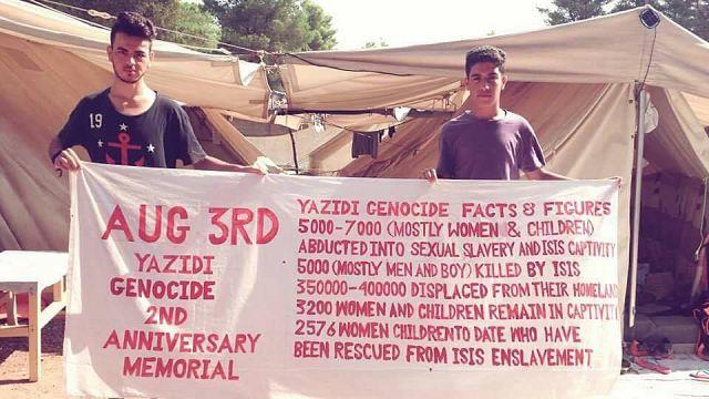 El hogar tras 74 genocidios: entrevista a un refugiado Yazidí