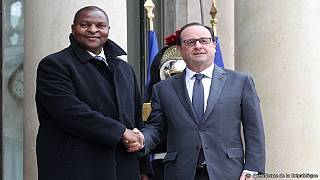 France : rencontre Hollande-Touadera
