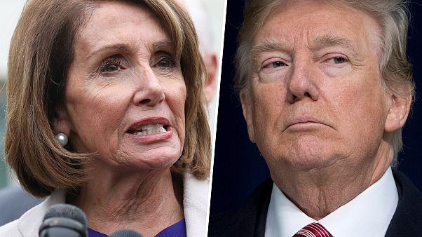 Image: Nancy Pelosi, Donald Trump