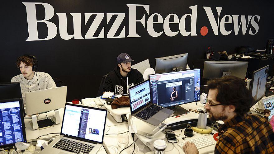 Image: Digital Media Company BuzzFeed's New York Headquarters