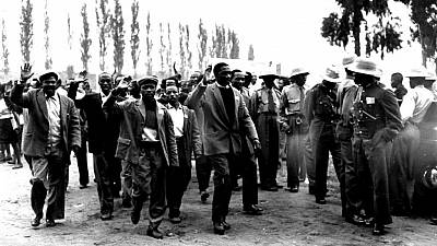 South Africa remembers 1960 massacre when police shot dead 69 protesters