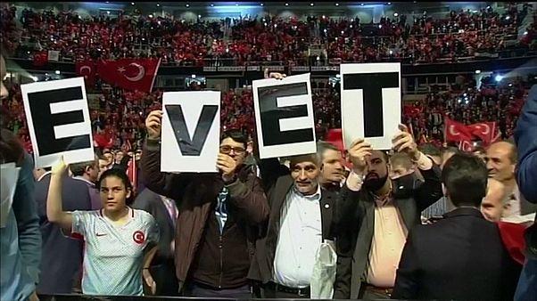 توقف کمپین هواداران اردوغان در آلمان