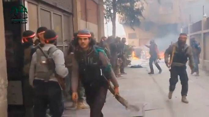 Sengunda ofensiva de los rebeldes sirios en Damasco