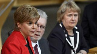 Sturgeon takes first formal step towards Scottish referendum
