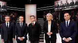 Fernsehdebatte in Frankreich: Die wichtigsten Aussagen der Kandidaten