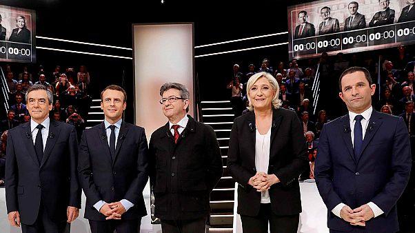 Presidenziali francesi: successo per il primo dibattito tv fra 5 candidati