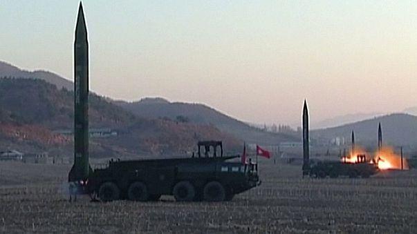 Washington e Seul reafirmam união e criticam testes norte-coreanos