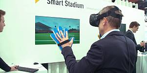 CeBIT 2017: Virtual Reality im Profisport