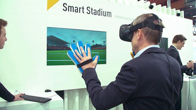 CeBIT: вирутальная реальность приглашает в мир спорта