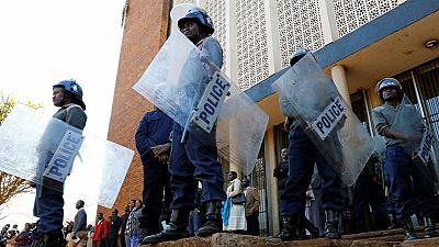 Zimbabwe police deployed ahead of opposition protest