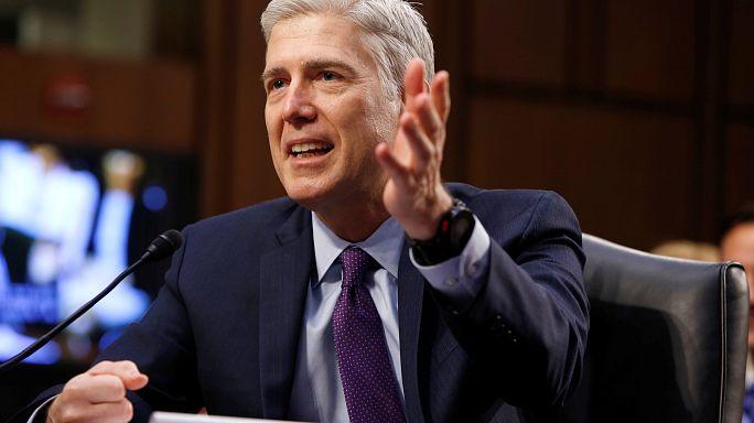 El juez estadounidense Neil Gorsuch comparece por segunda vez ante Comité Judicial del Senado