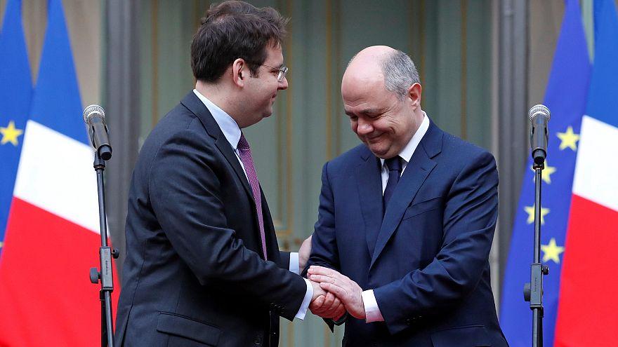 Mathias Fekl toma posse como novo ministro do Interior