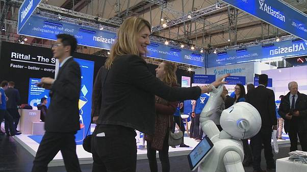 CeBIT: drones, robots, self-driving buses and smart homes