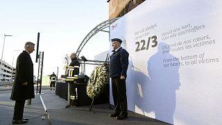 Belçika terör saldırısı kurbanlarını anıyor