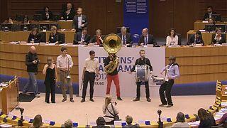 Tout en musique : l'anniversaire du traité de Rome au Parlement européen