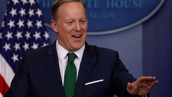 Trump Sprecher Sean Spicer (45) wird zum Gespött