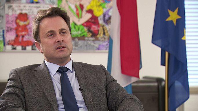 """Xavier Bettel, primer ministro de Luxemburgo: """"Prefiero una Europa de dos velocidades que una estancada"""""""