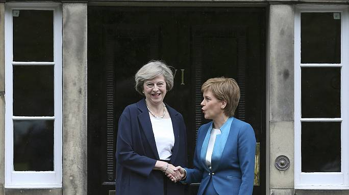 Brexit : Nicola Sturgeon, le casse-tête de Theresa May