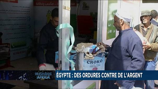 Cairo residents trade garbage for money [Business Africa]