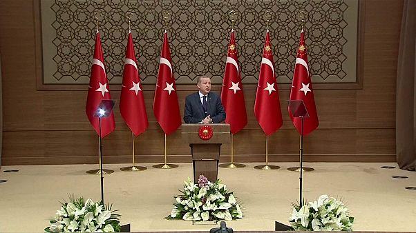 Quand Erdogan appelle les Européens à respecter la démocratie