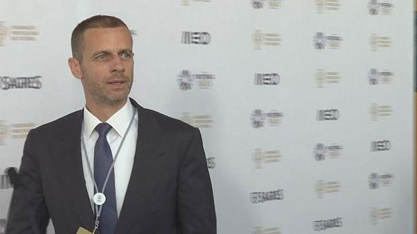 Presidente da UEFA rejeia uma SuperLiga europeia exclusiva da elite